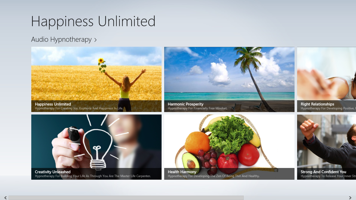 Happiness Unlimited App for Windows 8 and Windows RT | Espin
